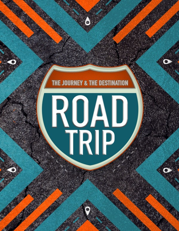 Road Trip Church Retreat Flyer Template