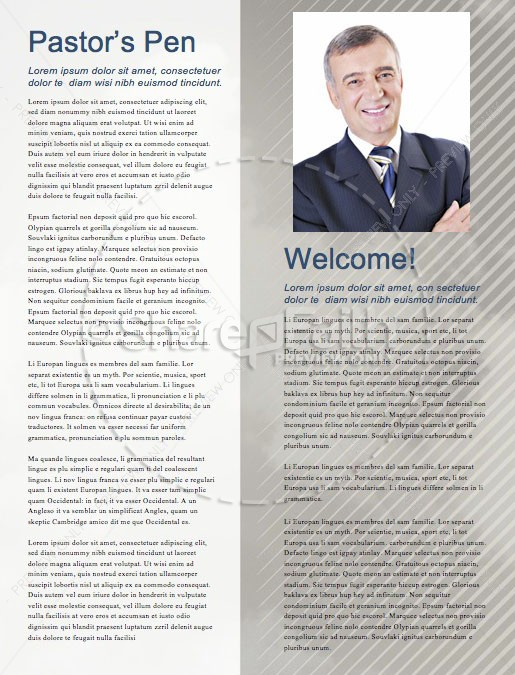 Men's Group Bible Study Newsletter | page 3