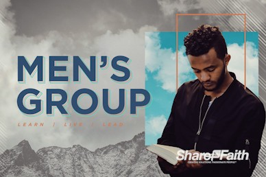 Men's Group Bible Study Service Bumper Video