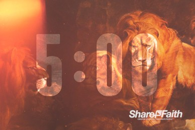 Book Of Daniel Lion's Den Church Countdown Video