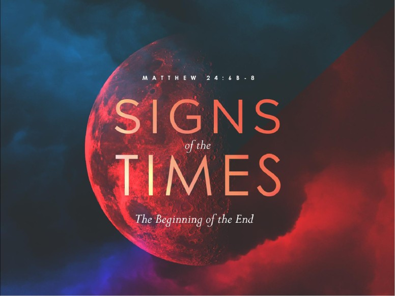 Signs Of The Times Sermon Graphic