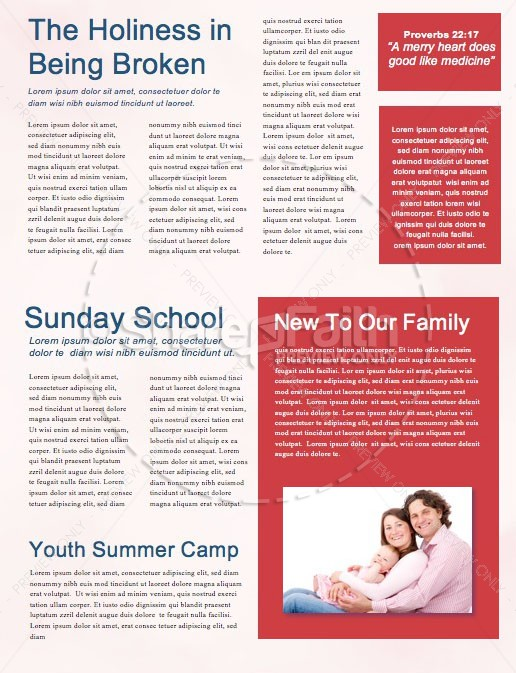 Signs Of The Times Church Newsletter