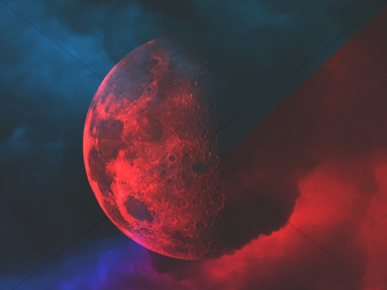 Signs Of The Times Moon Worship Background