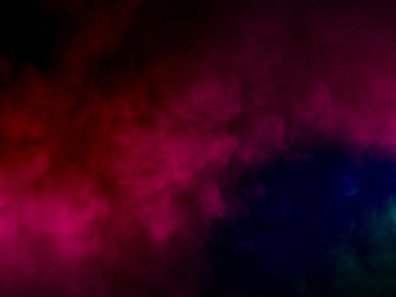 Magenta Smoke Abstract Clouds Worship Background Worship