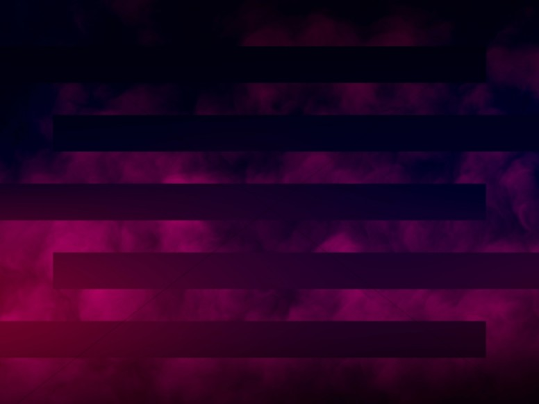 Magenta Bars Abstract Clouds Worship Background