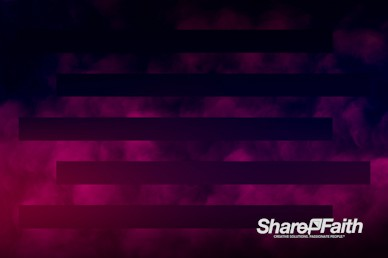 Magenta Bars Abstract Clouds Motion Background