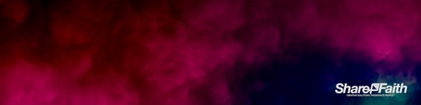 Magenta Abstract Clouds Triple Wide Background