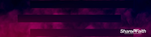 Magenta Bars Abstract Clouds Triple Wide Background