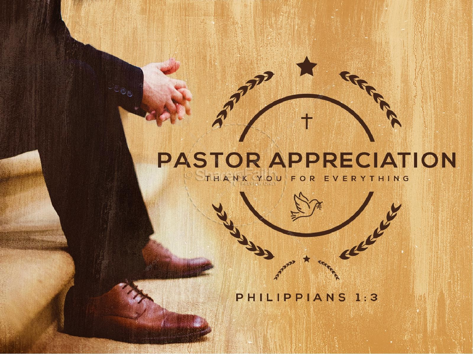 Pastor Appreciation Service PowerPoint
