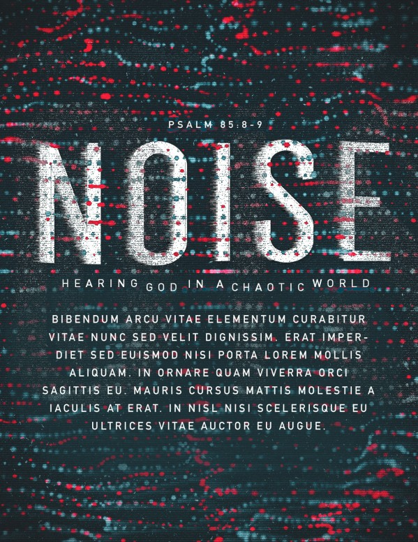 Noise Sermon Flyer Template