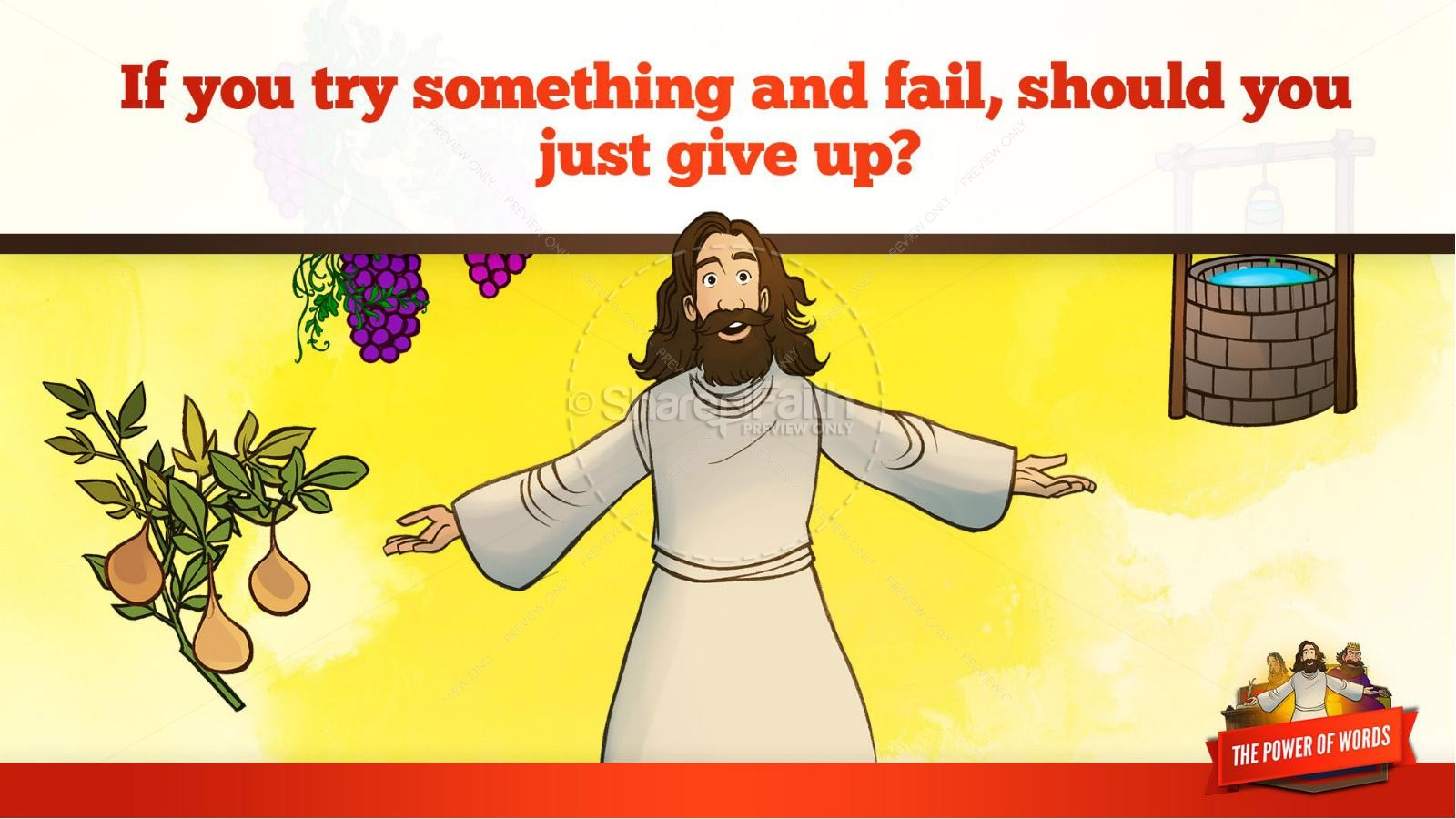 James 3 The Power of Words Kids Bible Story | slide 37