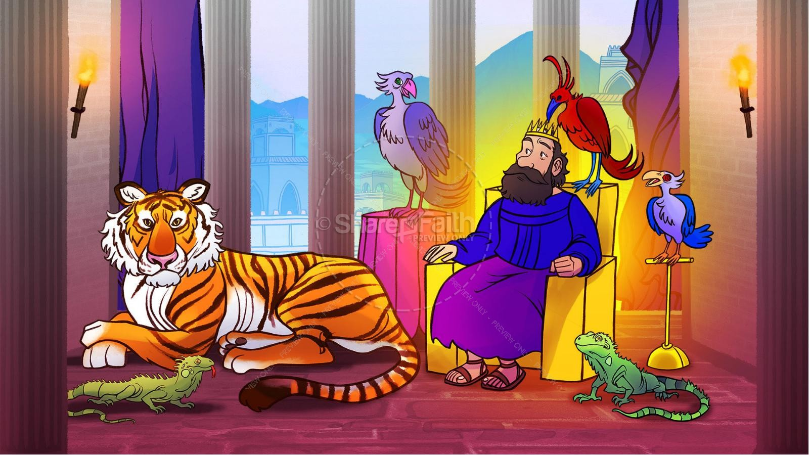 James 3 The Power of Words Kids Bible Story | slide 6