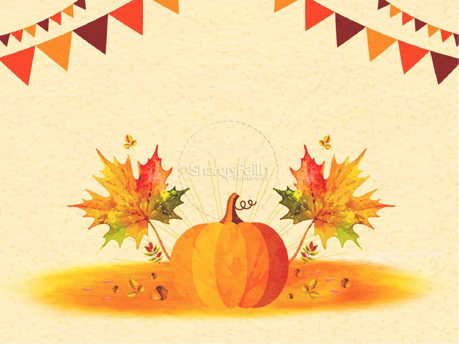 Harvest Party Pumpkin Graphic | slide 5