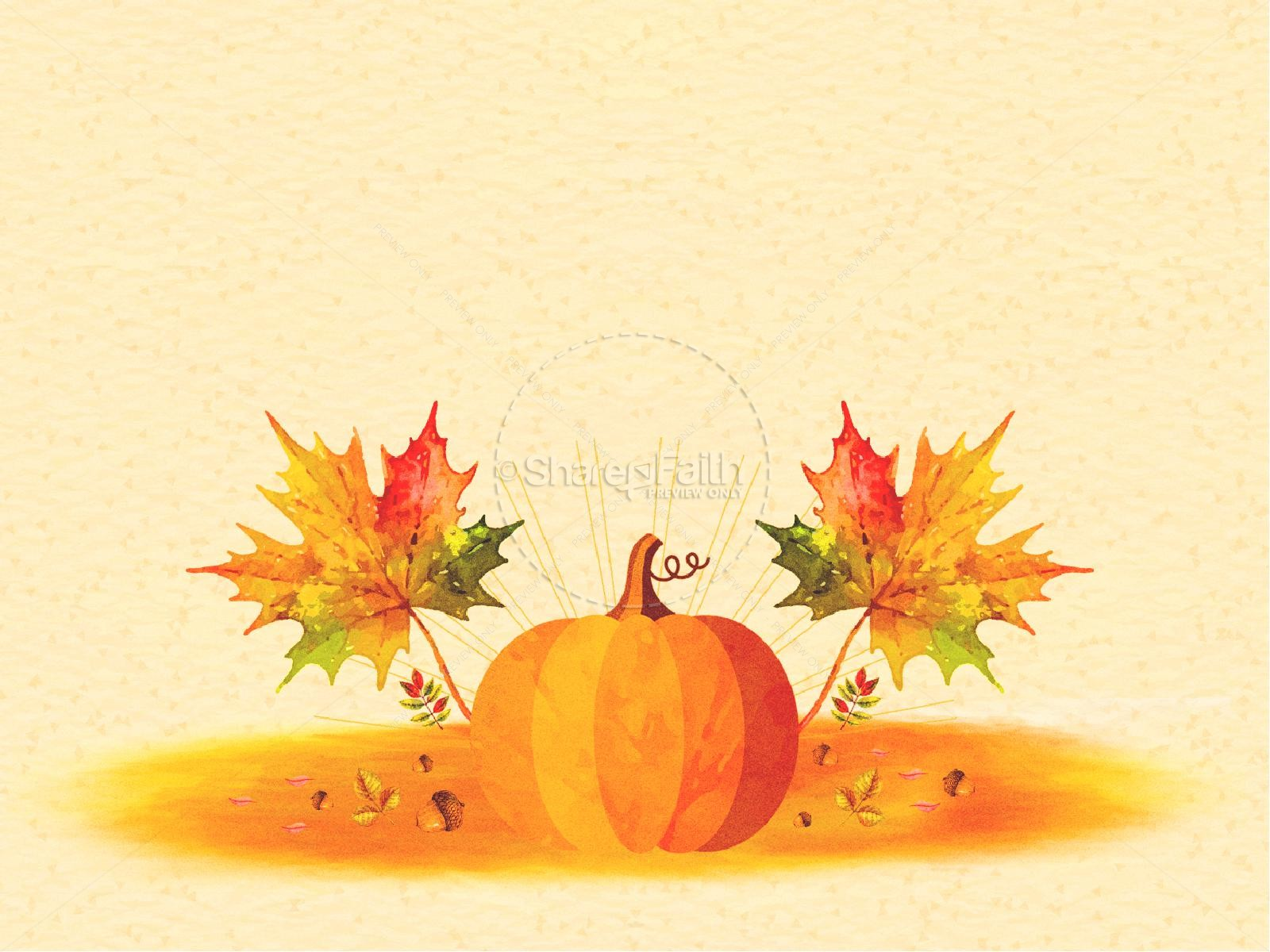 Harvest Party Pumpkin Graphic