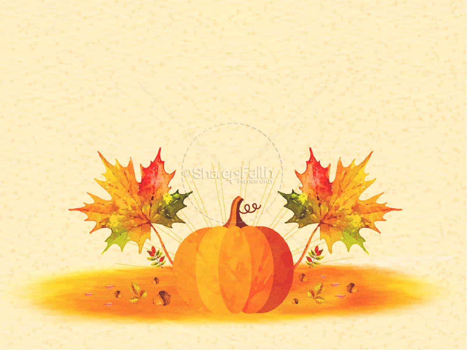 Harvest Party Pumpkin Graphic | slide 8