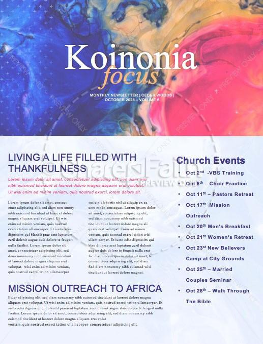 Made For More Sermon Newsletter