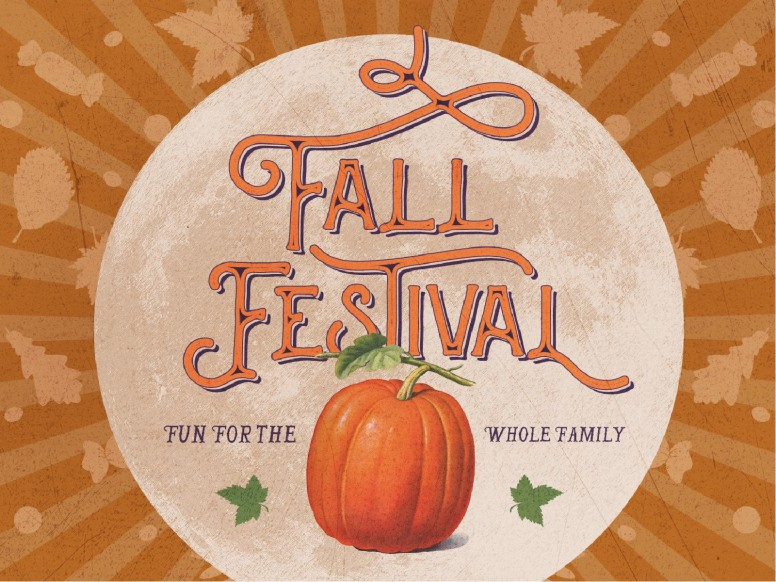 Fall Festival Pumpkin Church Graphic