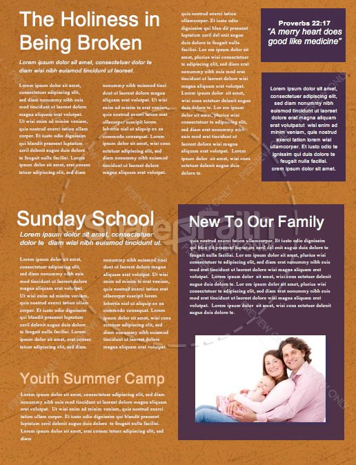 Fall Festival Pumpkin Church Newsletter