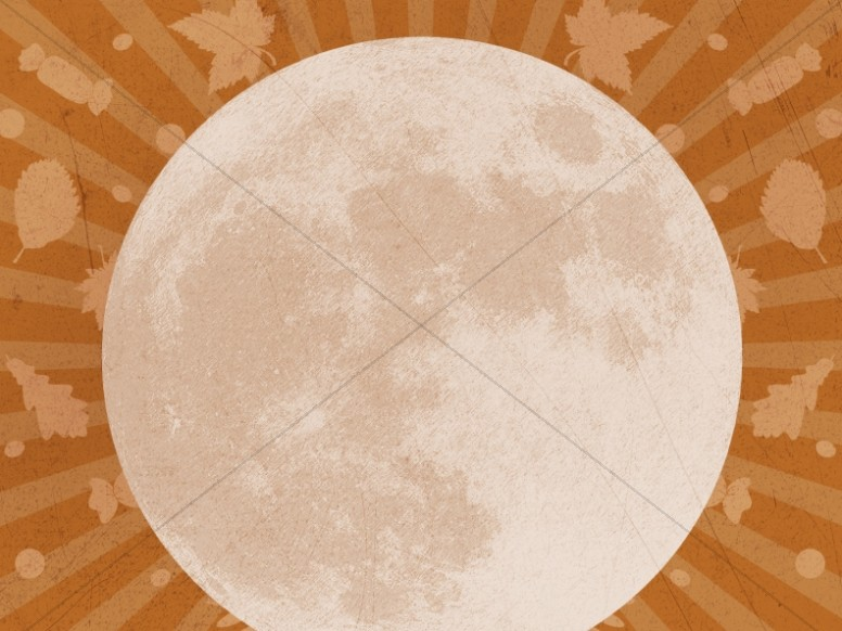 Fall Festival Harvest Moon Worship Background