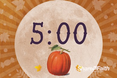 Fall Festival Pumpkin Church Countdown Video