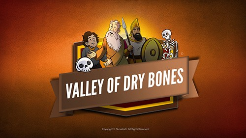 Ezekiel 37 Valley of Dry Bones Bible Video for Kids