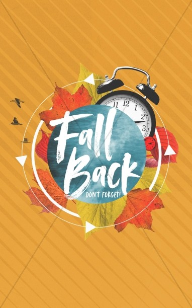 Fall Back Service Bulletin