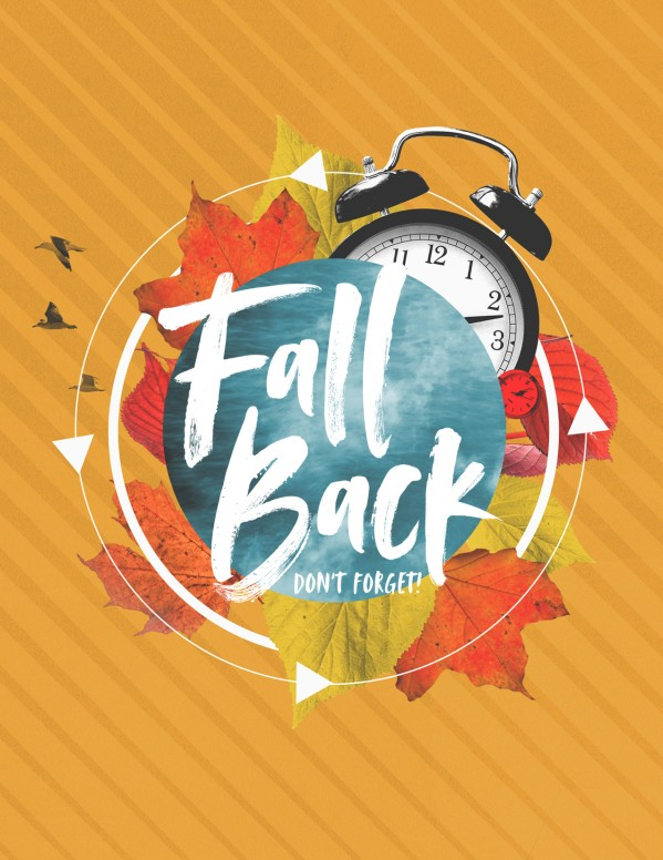 Fall Back Service Flyer