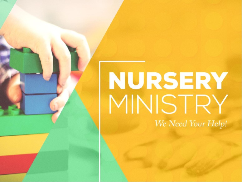 Church Nursery Graphic Design