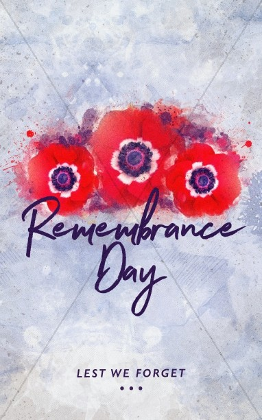 Remembrance Day Service Bulletin