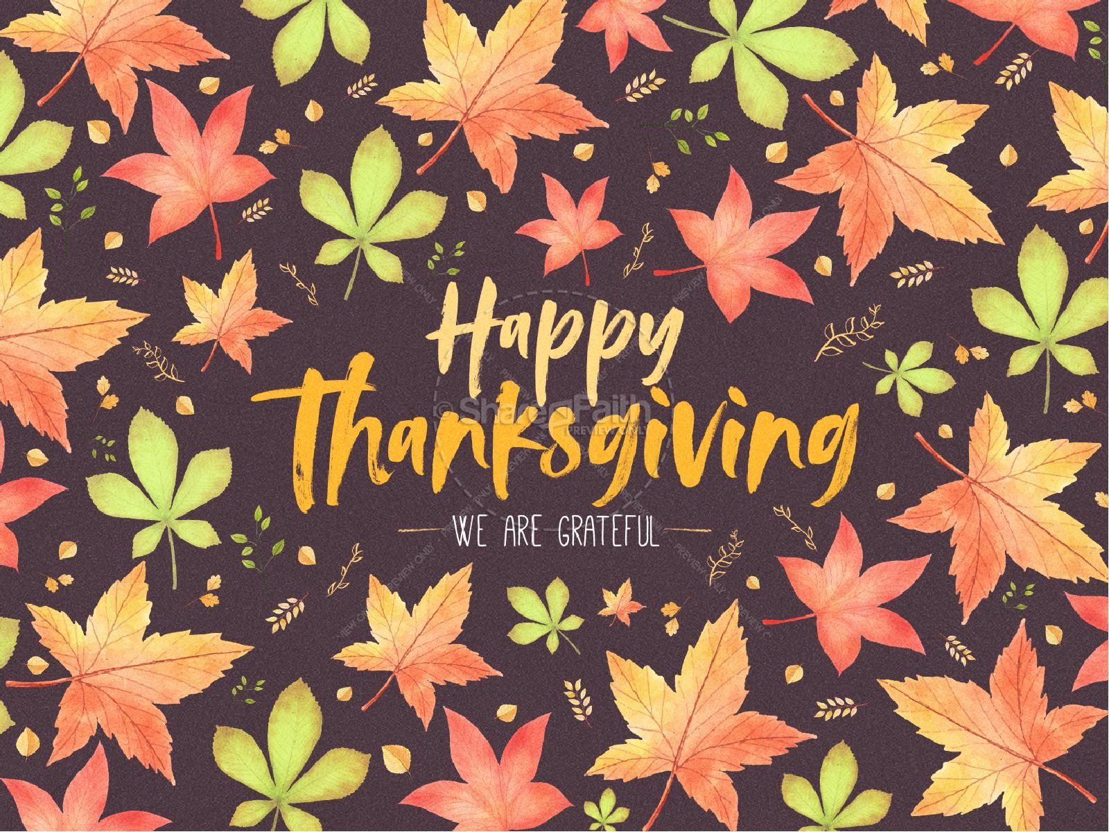 Happy Thanksgiving Holiday Graphic