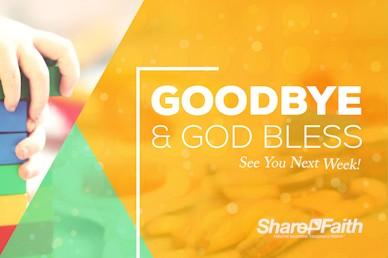 Church Nursery Goodbye Bumper Video