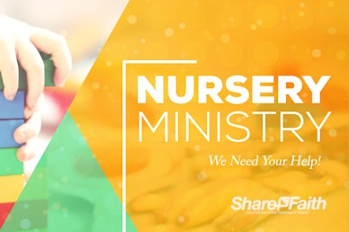 Church Nursery Service Bumper Video
