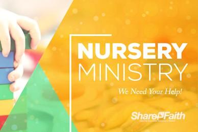 Church Nursery Service Bumper Video