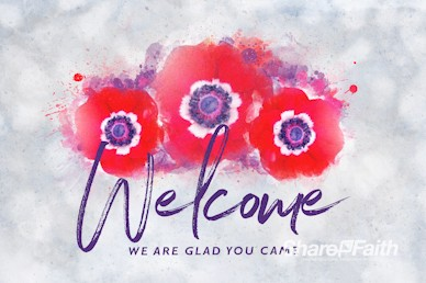 Remembrance Day Welcome Bumper Video