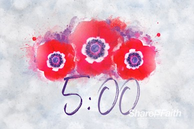 Remembrance Day Service Countdown Video