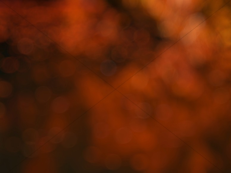 Orange Bokeh Worship Background