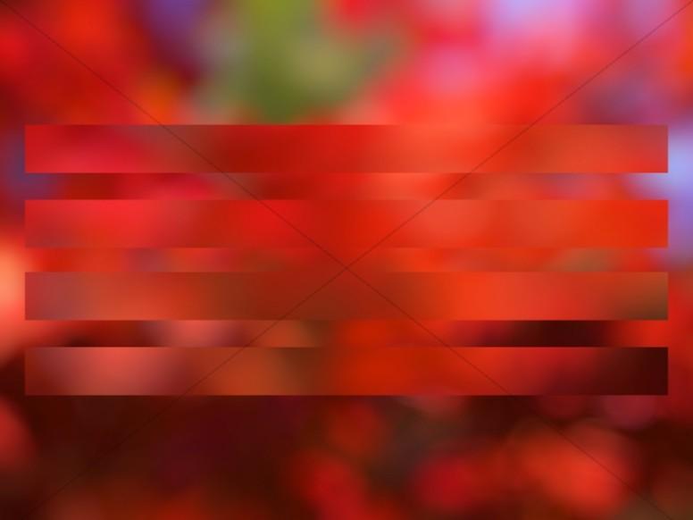 Red Stripe Bokeh Worship Background