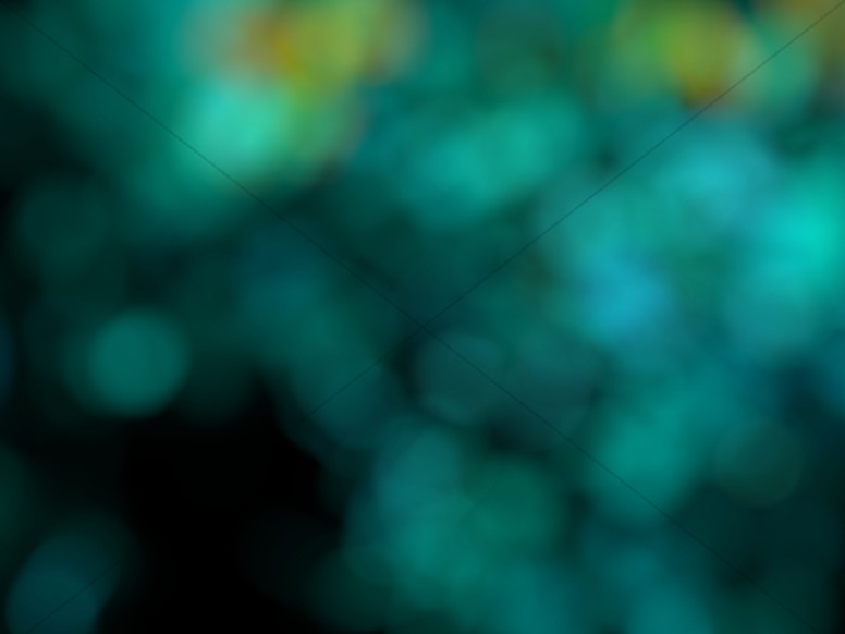 Green Bokeh Worship Background