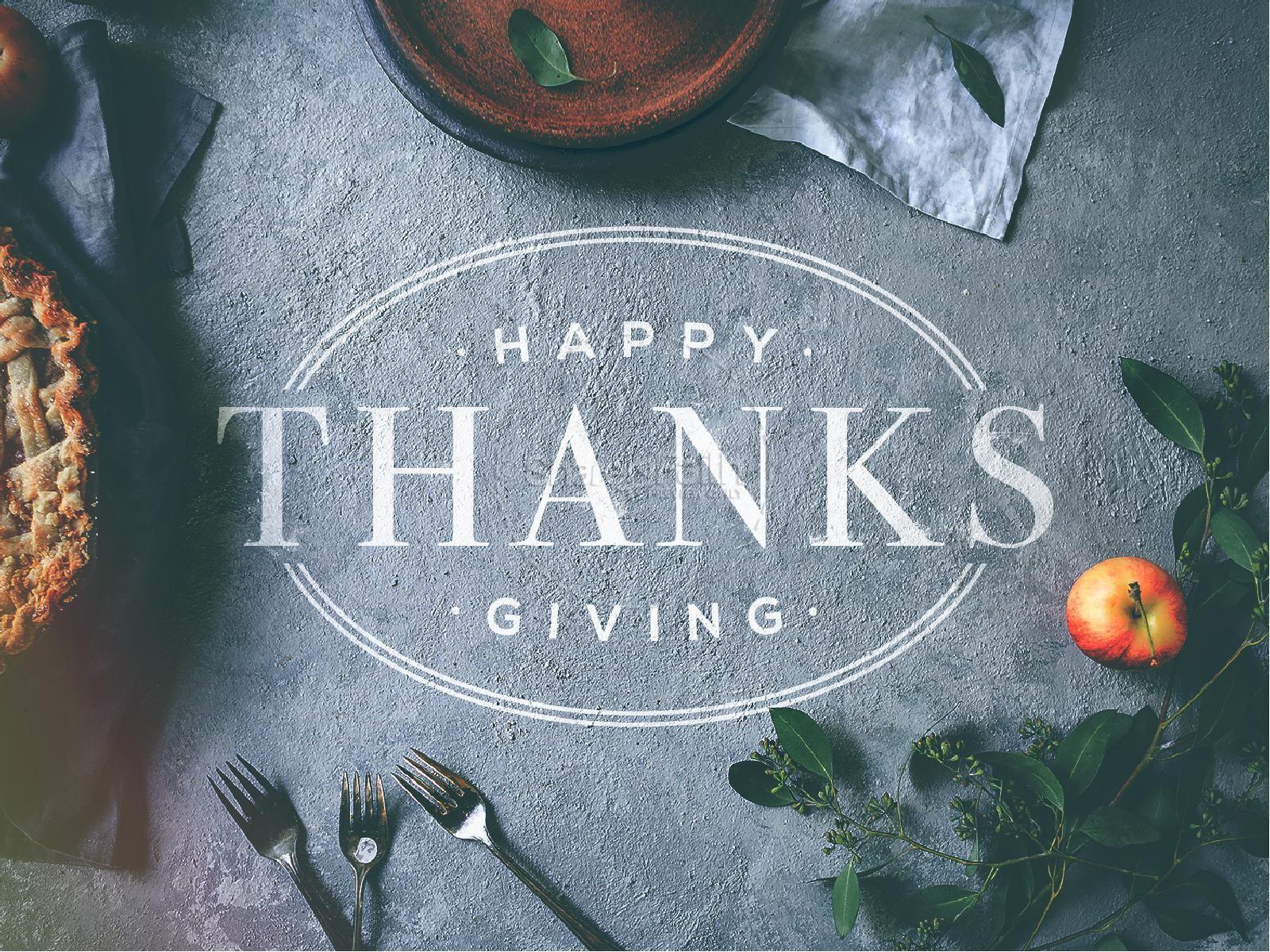 Thanksgiving Dinner Church PowerPoint | slide 1