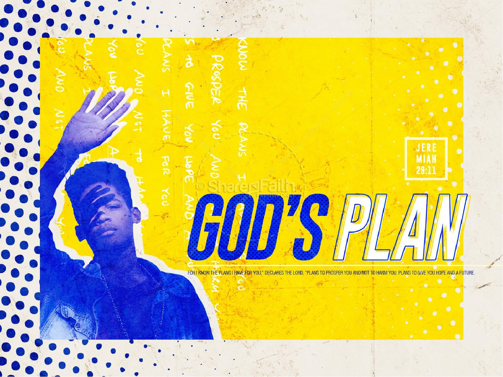 God's Plan Sermon Series Graphic