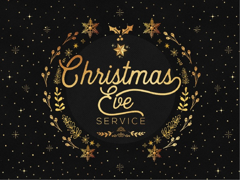 Christmas Eve Service Graphic Design