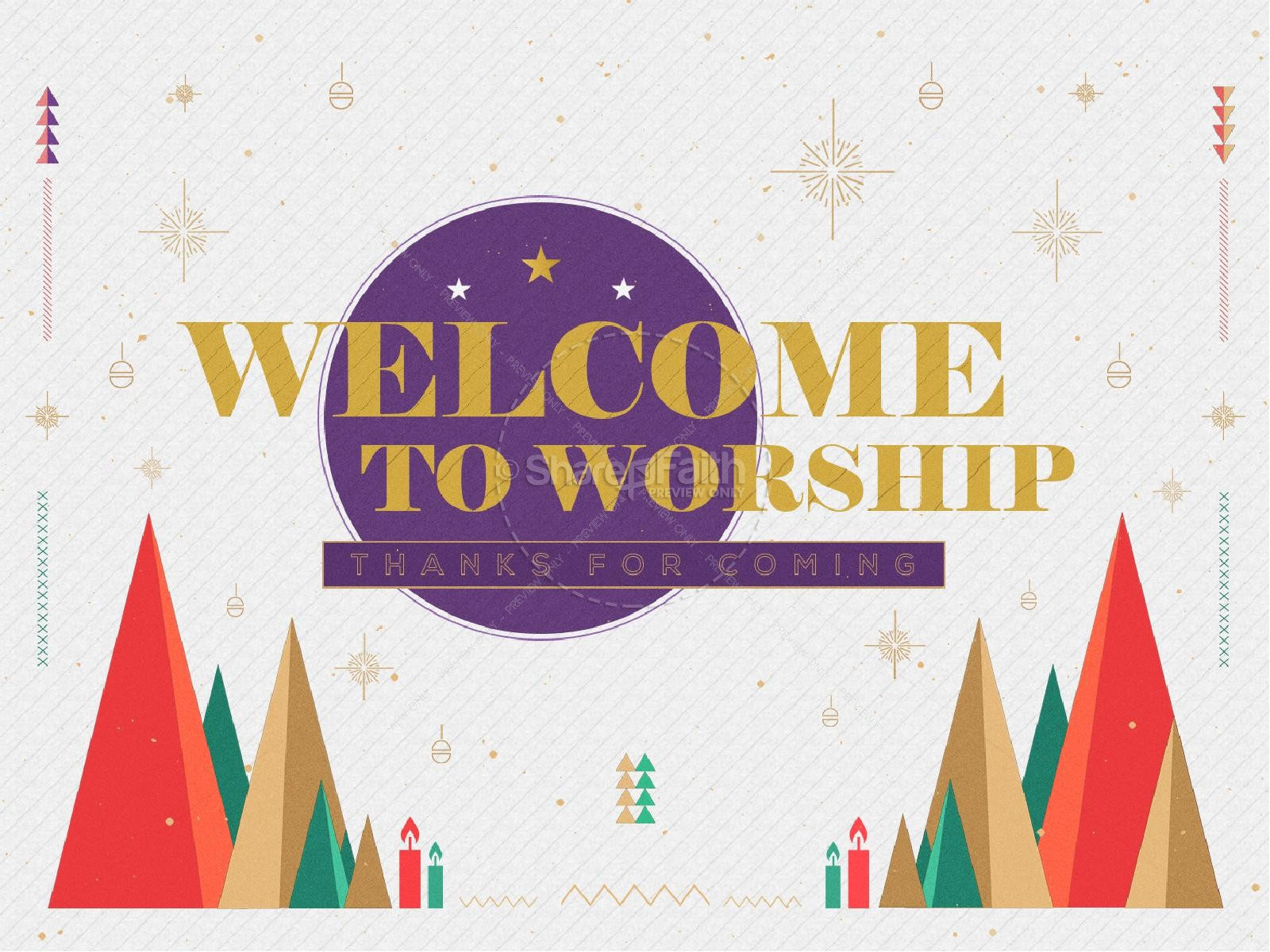 The First Noel Christmas Church Graphic
