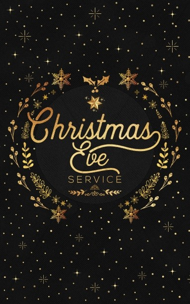 Christmas Eve Service Bulletin Cover