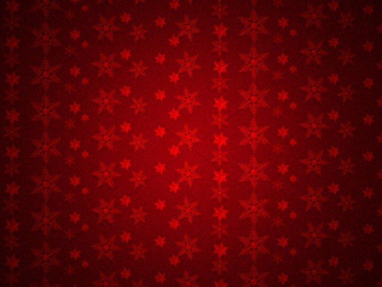 Merry Christmas Service Snowflake Background