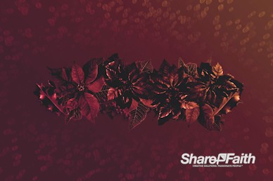 Merry Christmas Holly Service Motion Graphic