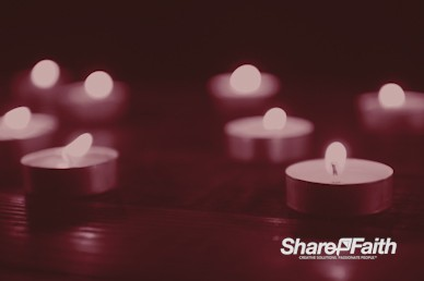 Christmas Candle Scarlet Worship Video