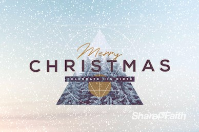Merry Christmas Winter Service Motion Graphic