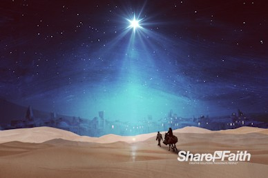 Christmas Journey Service Motion Graphic