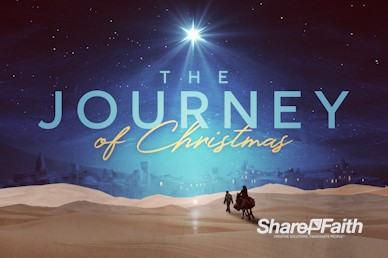 Christmas Journey Sermon Motion Graphic