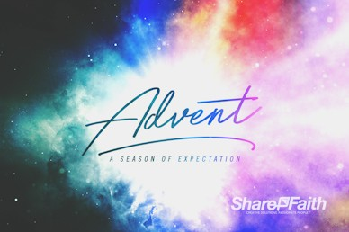 Advent Christmas Church Service Video Loop